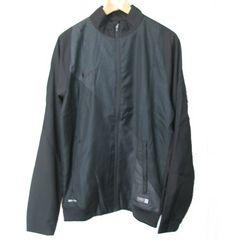 新品XL★ナイキ黒サッカーウインドジャケット定価7560円