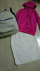 値下げUNIQLO 新品未使用 裏起毛ホワイトタイトスカート サイズM