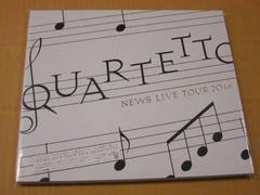 NEWS LIVE TOUR 2016 QUARTETTO Blu-ray初回盤/新品