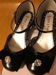 超美品☆anyFAM☆黒フォーマル靴21cm