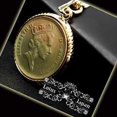 【数量限定】エリザベス女王/ゴールドコインネックレス