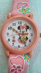 腕時計 ディズニ−★ミニ−マウス アルバセイコ−