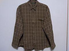 即決USA古着●MOUNTAIN RIDGEチェックデザインネルシャツ!ヴィンテージ・レア