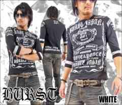 メール便送料無料【MAD BURST JAPAN】706167分Tシャツ黒銀XL