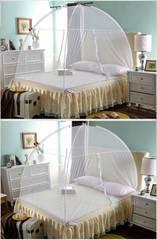 蚊帳 カヤ かや 200×180cm 蚊 組み立て収納 高さ 150cm