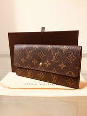1円 ◆正規品◆ 美品 ルイヴィトン モノグラム 長財布