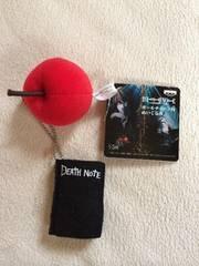 デスノート ボールチェーン付ぬいぐるみ ノート&リンゴ