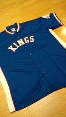NBAHARDWOODーCLASSICS ゲームシャツ 青ブルー サイズXL→2XL位