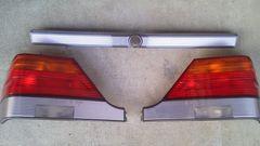 W140 純正テールレンズ ガーニッシュ セット