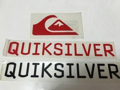 QUIKSILVER ステッカー