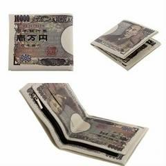 財布 折り畳み財布 一万円札 ユニセックス 男女兼用