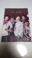 BIGBANG ロッテ免税店 クリアファイル