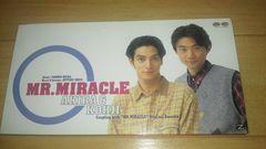 廃盤レアCDシングル!AKIRA&KOHJI「Mr.MIRACLE」☆光GENJI赤坂晃