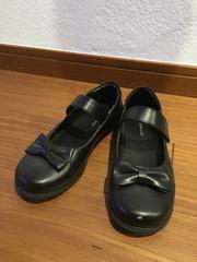 ★リボン付★フォーマル靴★1回使用★