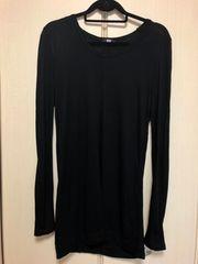 SLYロングTシャツ黒2☆moussy ZARA系