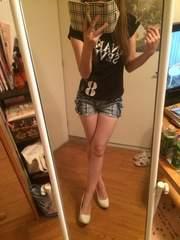 BANANA SEVEN☆ロゴ黒Tシャツ