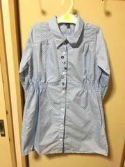 新品☆シャツワンピ★