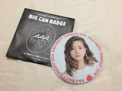 AAA Party限定BIG缶バッジ伊藤千晃