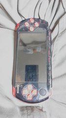 SONY PSP-3000 ブラック&レッド ジャンク 本体のみ 送料無料