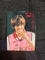 【V6】【三宅健】ジャニーズ大運動会/DVD付属カード[レア]