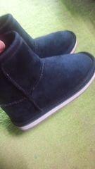 黒ブーツ16