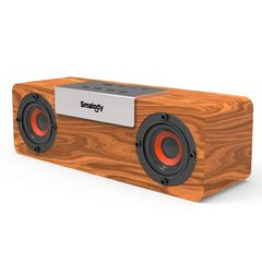 10W木製ワイヤレススピーカー 高音質 大音量 重低音