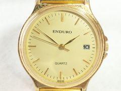7957/ENDUROフルゴールド滅茶苦茶カッコイイメンズ腕時計格安出品