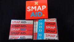 SMAP アルバム SMAP AID ベストアルバム 未開封ハンカチ付き