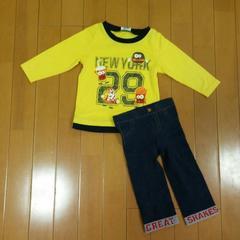 F .O .KIDS レギンスパンツ80〜90☆ロンTシャツ95☆ハンバーガー