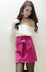 ★Delyle★ラップリボンスカート★