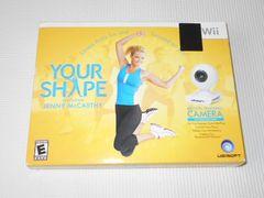 Wii★YOUR SHAPE カメラ付 海外版(国内本体動作不可)