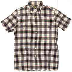 XLARGEエクストララージ チェックシャツ インド綿