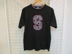 STUSSY made in usa メンズ半袖プリントTシャツ M 美品