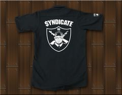 SYNDICATE★ワークシャツ・ギャングスタ★M★黒★新品