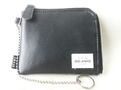 3481/BEAMSビームス★未使用品ファスナー付き財布超格安出品です