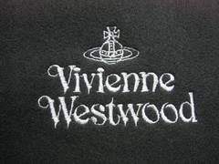 Vivienne Westwood ヴィヴィアンウエストウッド マフラー 黒 未使用