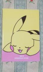 新品ポケットモンスター2019年 スケジュール手帳定価\972ピカチュウ