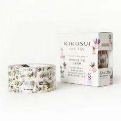台湾製KIKUSUI story tape盆栽森林マスキングテープ