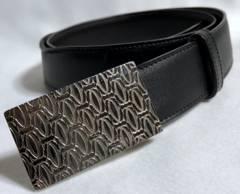 正規 Cartierカルティエ ハッピーバースデー 2Cロゴバックルベルト黒×茶 75調節可