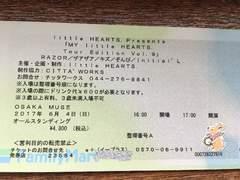 6/4 little HEARTS 大阪早番