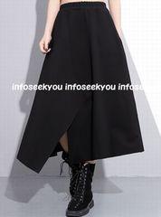Lサイズ/裾カット~イレギュラースカート