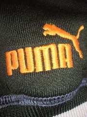 PUMA プーマ 48 サラサラ パーカー グリーン Oサイズ 160 シンプル ジャージ 風