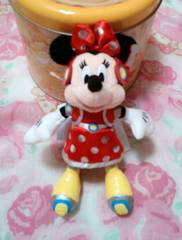 ディズニー32周年☆ミニーマウスぬいぐるみバッチ☆