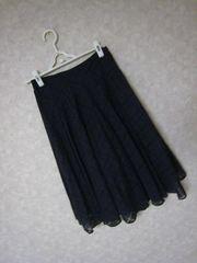 ザラ/ZARAネイビースカートSサイズ♪