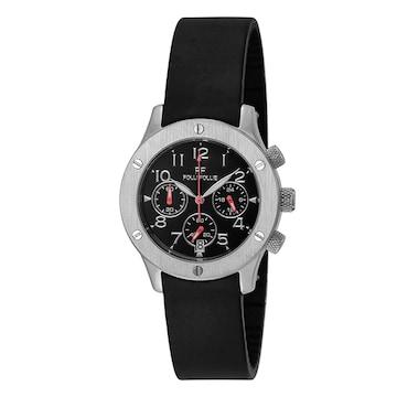 フォリフォリ 腕時計 レディース WT6T042ZEK-BK