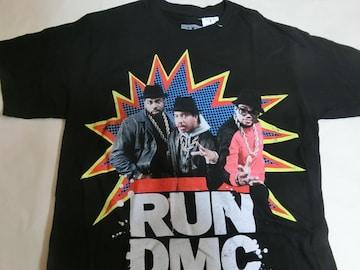 80年代 ヒップホップ ラップグループ【RUN D.M.C.】TシャツUS L