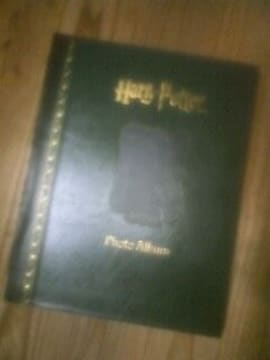 ハリーポッター魔法書の型フォトアルバム