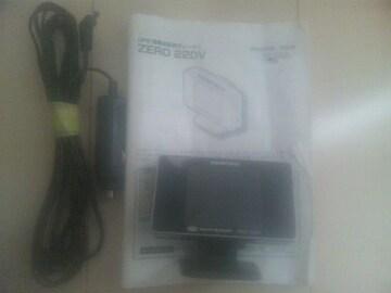 コムテック、ZERO220V(Gセンサー&エコドライブ)