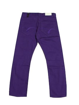最終セール新品TripleThreadUSA★カラーパンツ★パープル紫W34XL