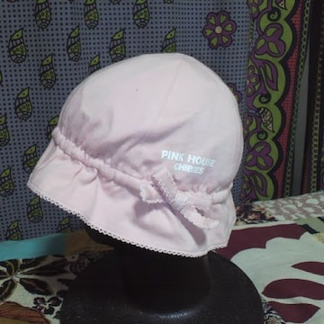 キッズPINK HOUSE/ピンクハウスピンク 帽子・ハット48〜50�p